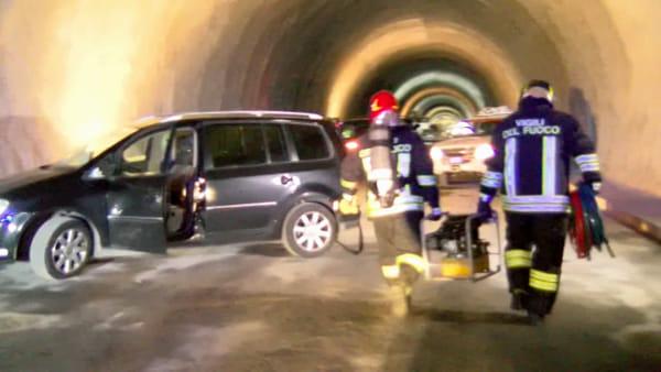 VIDEO | Incidente stradale con feriti alla Galleria di Giardini: ma è solo una esercitazione