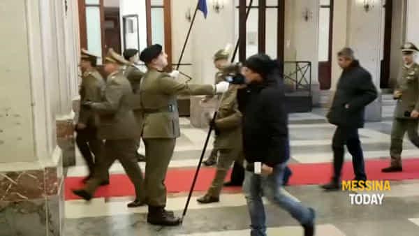 VIDEO | Accordo di collaborazione fra Ospedale militare e Centro Neurolesi, cerimonia al Salone delle Bandiere