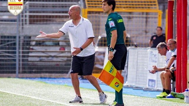 Serie C, the regret of the coach of Messina Sullo for the defeat of Potenza thumbnail