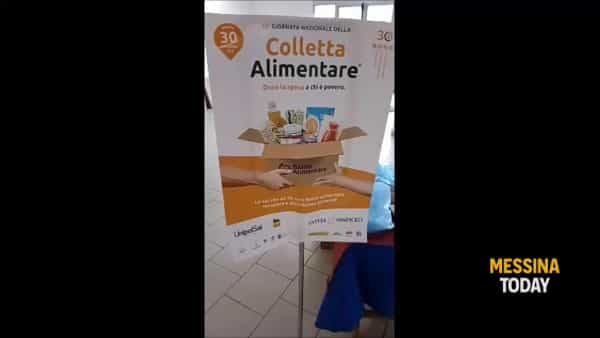 Colletta alimentare, i volontari anche nei supermercati messinesi