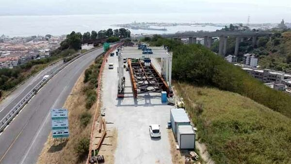 Fatal accident at work, worker of the highway construction site of the Ritiro viaduct loses his life thumbnail
