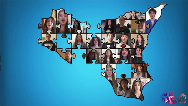 Ora di libertà, dal musical di Scuderi il video della rinascita con i talenti del teatro Vittorio