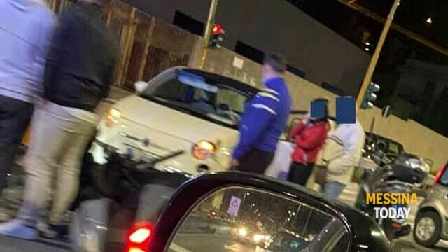 Accident on Viale Giostra, violent car-scooter collision: one injured thumbnail