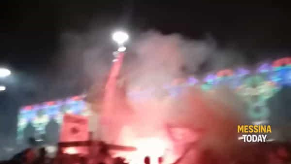 Piazza Duomo in festa per la presentazione dell'Acr Messina