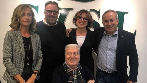 Mariella Crisafulli, Maurizio Petriccioli, Giovanna Bicchieri, Paolo Montera. Seduto- Gigi Caracausi-2