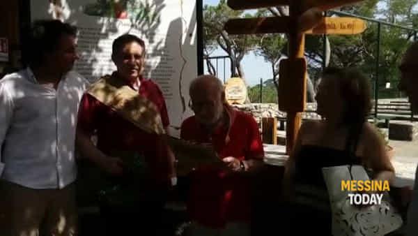Angelo Capodicasa esce dall'ospedale, prima tappa sui Colli per una pagnotta alla disgraziata