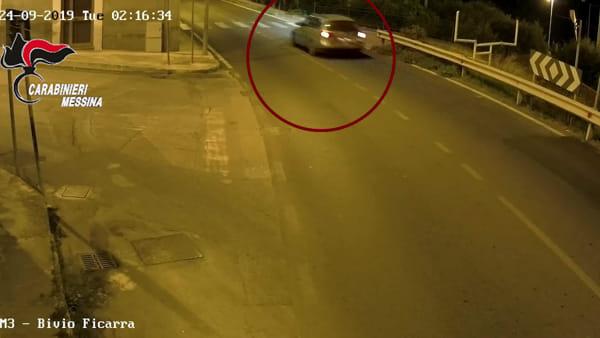 Anziana rapinata a Brolo, gli arresti dei carabinieri e le immagini delle telecamere di videosorveglianza