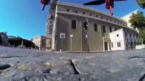 """""""Finiu u babbiu"""", il singolare video con i droni per stanare chi non rispetta i divieti"""
