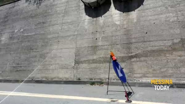 Autostrada Messina-Catania, entro agosto il consolidamento del versante a Letojanni | VIDEO