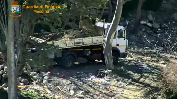 """Operazione """"Montagna fantasma"""", l'area trasformata in discarica di rifiuti pericolosi"""