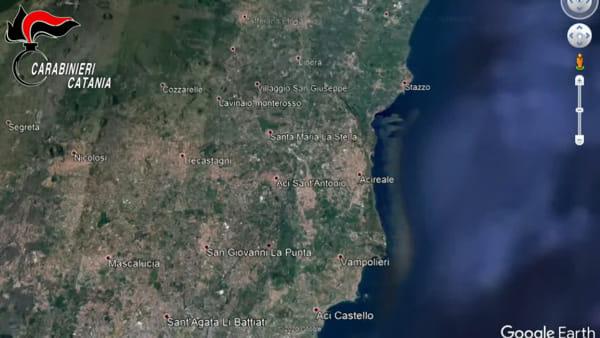 VIDEO | 46 arresti per mafia: armi e droga nascosti nei pilastri