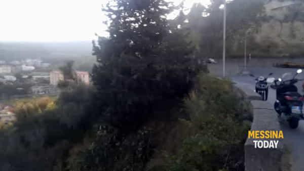 Vasto incendio, chiusa la strada che da Bisconte porta a Montepiselli