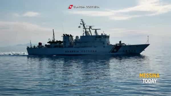 Isole Eolie, operazione della Guardia Costiera contro le reti illegali da pesca | VIDEO