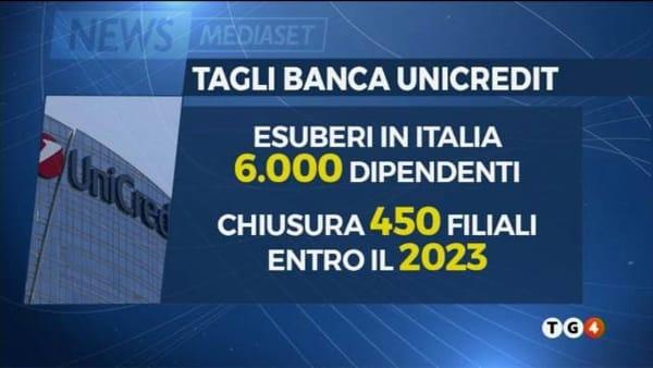 Tagli banca Unicredit, le filiali a rischio in Sicilia