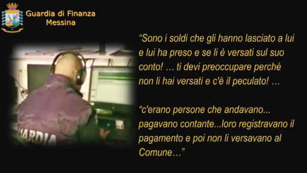 """""""Quello maneggiava i soldi, non li versava e si facevano i viaggi"""", le intercettazioni dei finanzieri che hanno portato agli arresti a Taormina"""