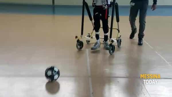 """Il """"calcio"""" di Morgan alla disabilità e quel suo grande sogno di incontrare i campioni della Juventus"""