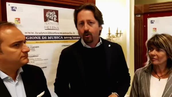 """Il teatro di Messina diventa modello, Manlio Messina: """"Ottima governance, in due giorni mille abbonamenti"""""""