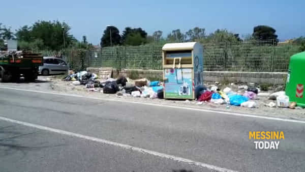 Statale 113 sommersa dai rifiuti, ma qui la differenziata si fa da due anni